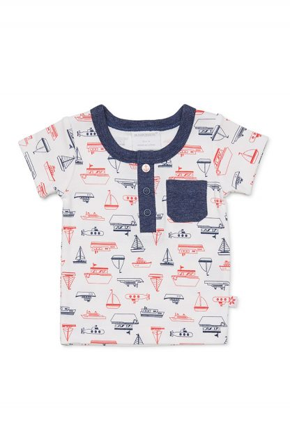 Marquise Boys Ahoy T-Shirt and Pant Set