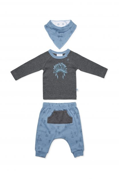 Marquise Boys Tee Pee Top, Pants & Bib