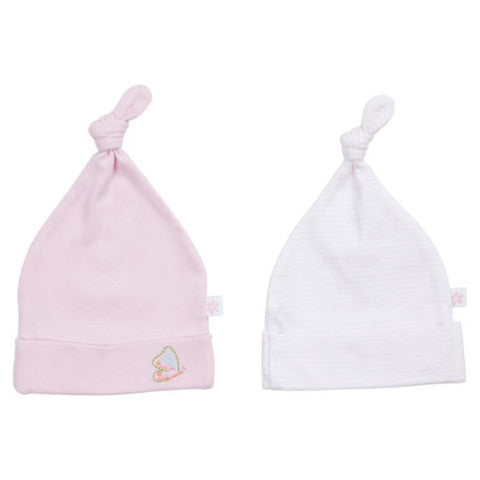 Marquise 2 Pack Beanies Butterfly - Sweet Thing Baby & Childrens Wear