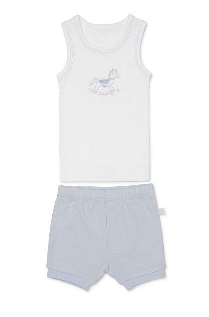 Marquise Singlet and Short Set - Rocking Horse - Sweet Thing Baby & Childrens Wear