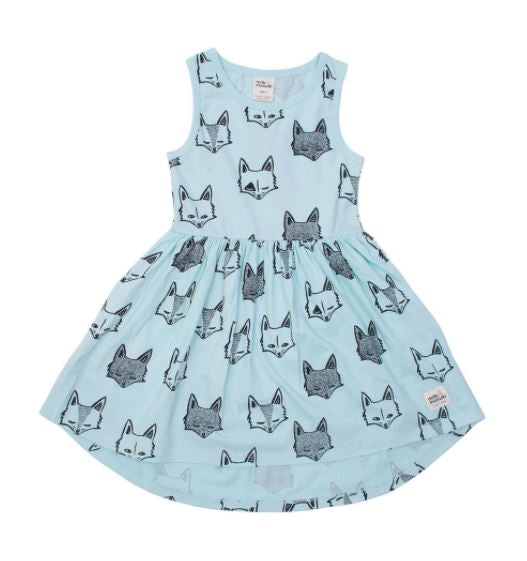 Milk & Masuki Singlet Dress-Fox Tricks