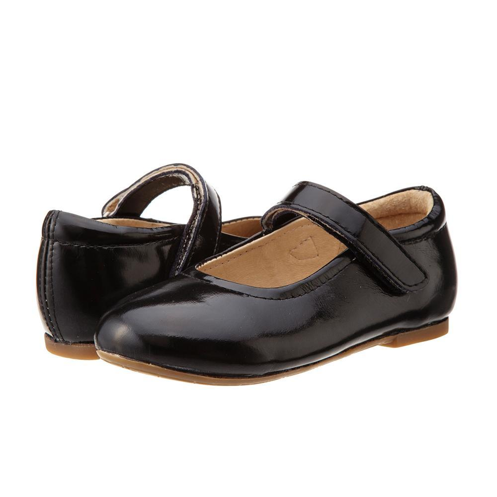 Old Soles Praline in Black Patent