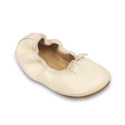 Old Soles Cruise Ballet Flat White Leather - Sweet Thing Baby & Childrens Wear
