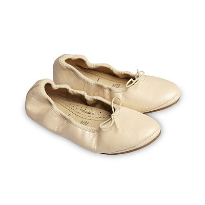 Old Soles Cruise Ballet Flat Pearl Metallic Leather - Sweet Thing Baby & Childrens Wear