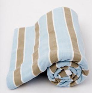 Lil Fraser Baby Wraps- Oscar Blue/Grey - Sweet Thing Baby & Childrens Wear