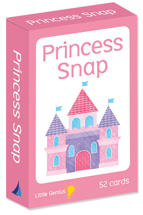 Parragon little genius Snap cards game Princess theme
