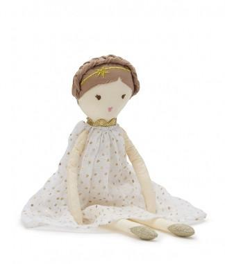 NANA HUCHY RAG DOLL Lottie Doll White - Sweet Thing Baby & Childrens Wear