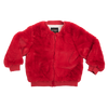 Rock Your Baby Bomber Jacket - Red