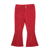 Rock Your Baby Corduroy Flare Jeans - Red