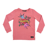Rock Your Baby Mother L/S T-Shirt - Pink