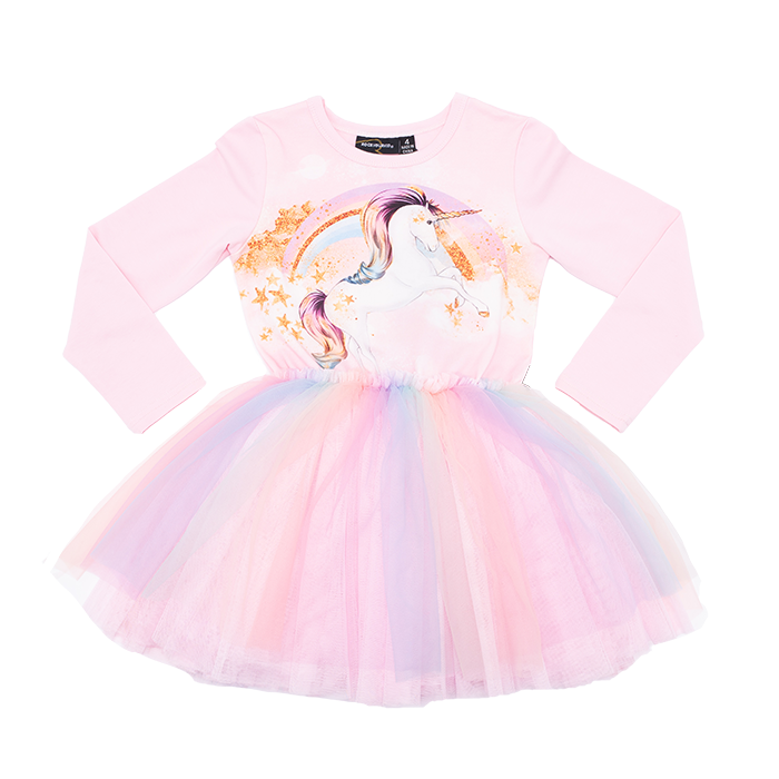 Rock Your Baby L/S Circus Dress - Stargazer (Size 3-8)