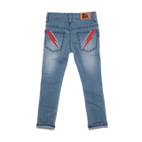 Rock Your Baby Ziggy Jeans - Washed Blue