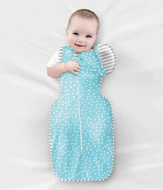 Love To Swaddle UP 50/50 Summer Lite - Multi Stripe