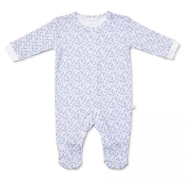 Marquise Girls Floral Studsuit - Blue/pink
