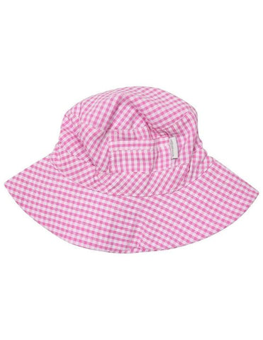 Korango Seersucker Sun Hat in Red (Size 0 - 6Y)