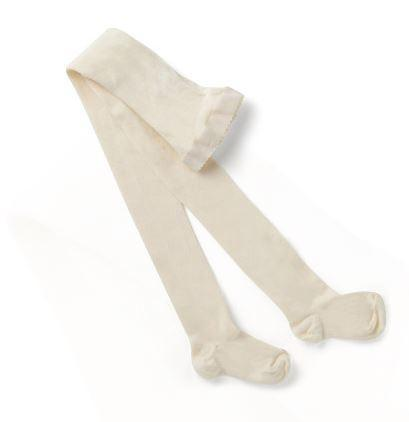 Columbine Cotton Tights-Snow - Sweet Thing Baby & Childrens Wear