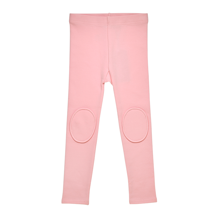 Rock Your Baby Knee Patch Tights - Pink (Size 3-8)