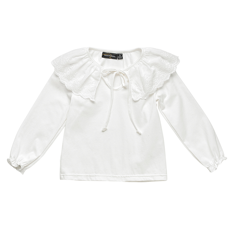Rock Your Baby L/S T-Shirt - Frill Neck (Size 2-8)