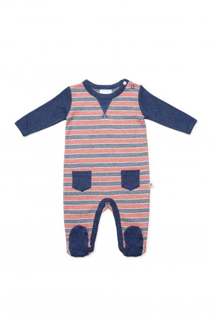 Marquise Boys Stripy Romper