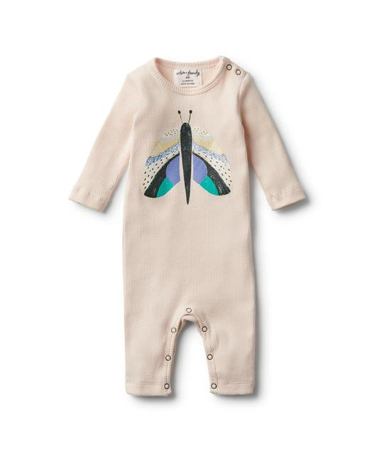 Wilson & Frenchy Organic Flutter By Rib Growsuit