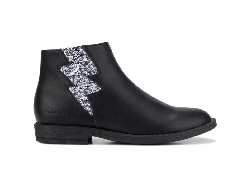 Clarks Winter Boot in Black