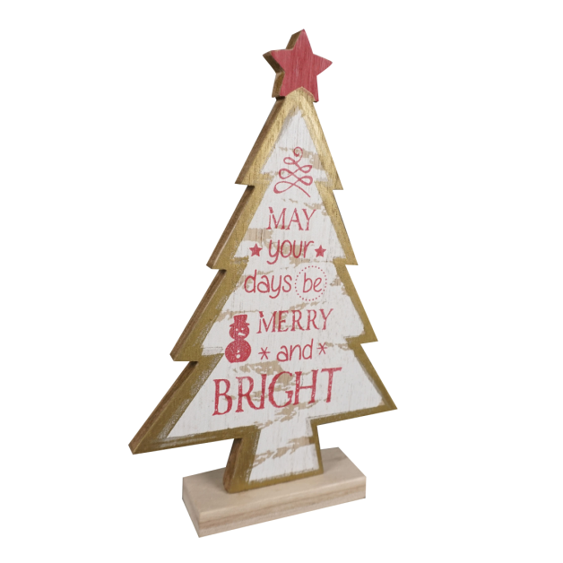 Urban Nest Living MDF Christmas Tree - Small