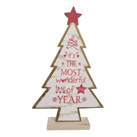 Urban Nest Living MDF Christmas Tree - Large