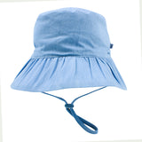 Bebe Abby Chambray Sun Hat -  XS18-750