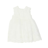 Bebe Sleeveless Lace Dress Ivory- XS18-818IV