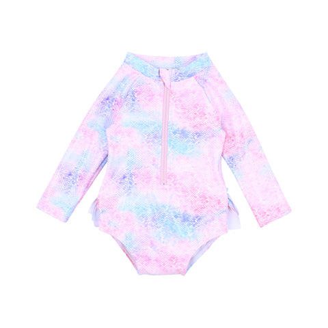 Bebe Iris Embroidered Cardigan in Cloud