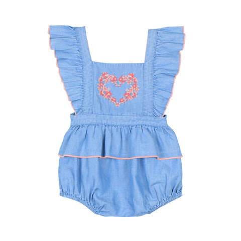 Bebe Archer Overalls in Red (Size 000-2)