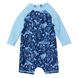 Bebe Jayce L/S Zip Back Sunsuit - YS18-477