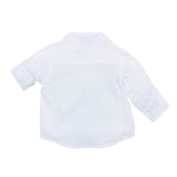 Bebe Theo L/S Shirt With Pocket in White YS18-552