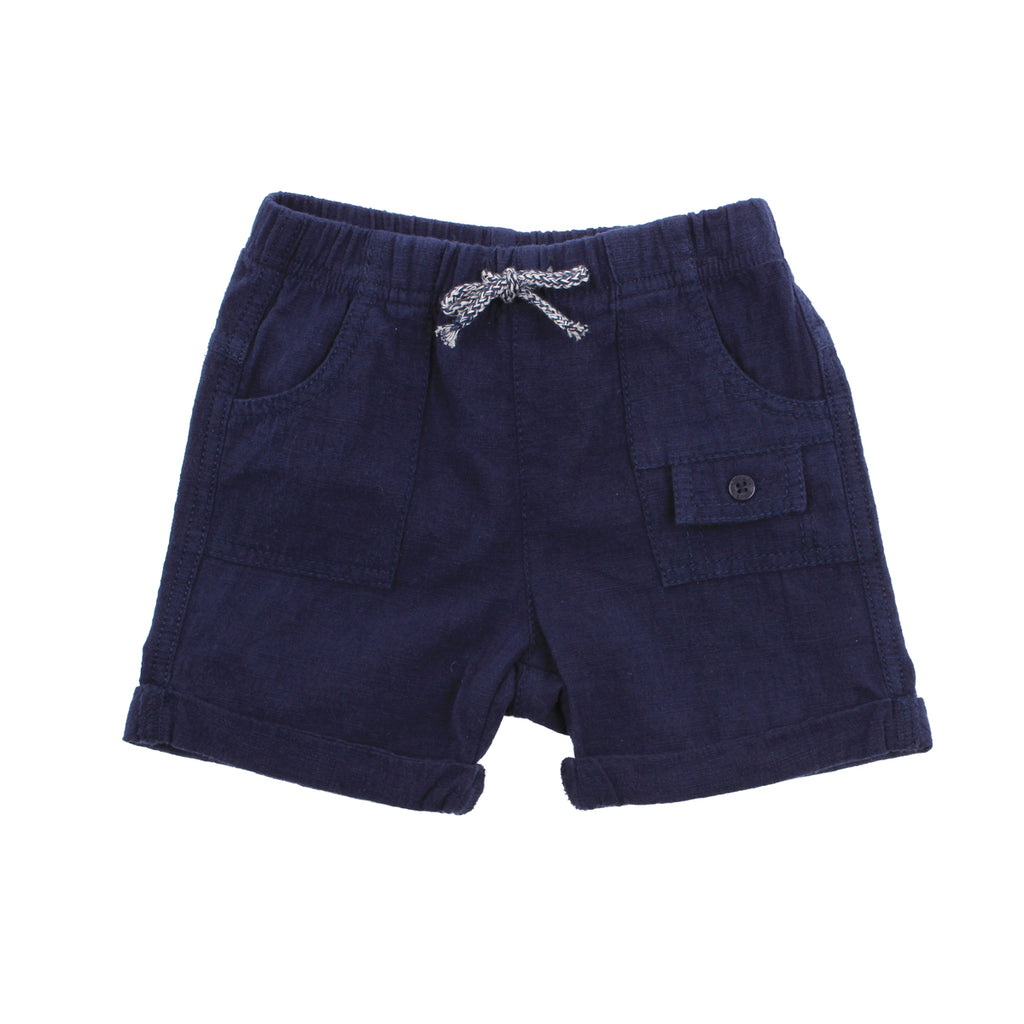 Bebe Archer Cargo Shorts in Navy (Size 000-2)