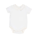 Bebe Louis Bodysuit with Collar in Cloud