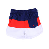 Bebe Cody Panel Bordshorts with Aqua Nappy (Size 00-2)
