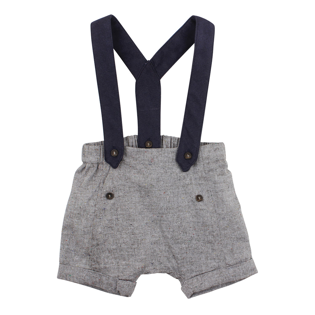 Bebe Beau Short with Braces (Size 000-2Y)