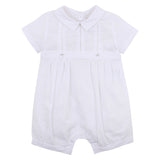 Bebe Smart Romper in White (Size NB-0)