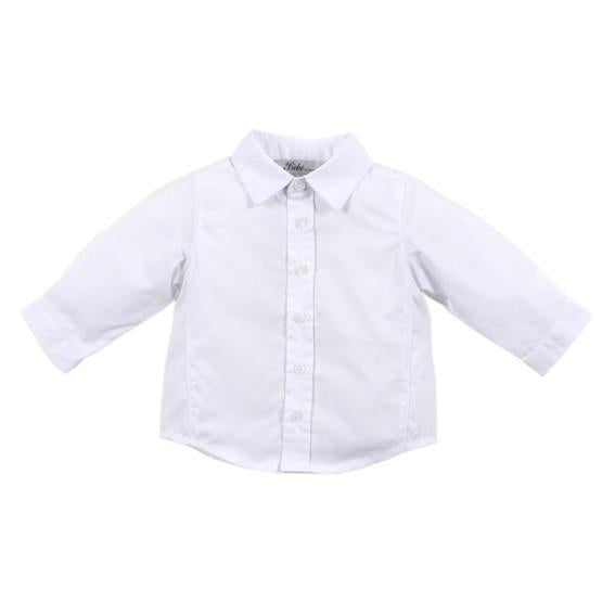 Bebe Archie L/S Shirt in White - YW16-438 - Sweet Thing Baby & Childrens Wear
