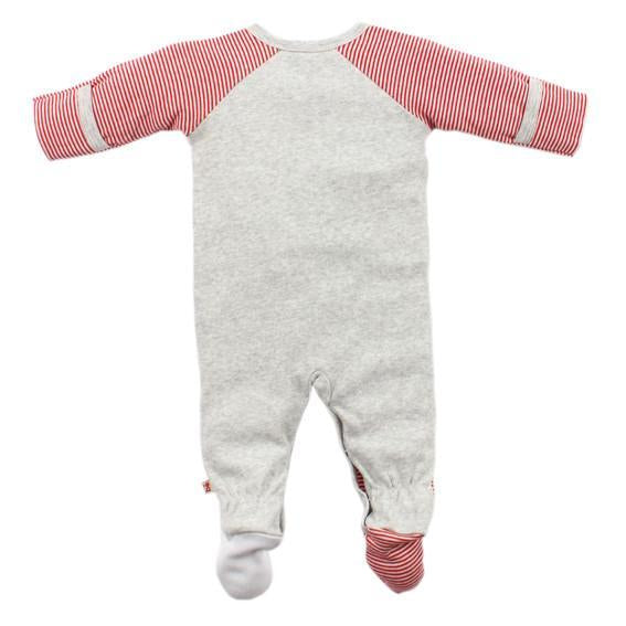 Bebe Max L/S Wrap Romper with Feet - YW16-460 - Sweet Thing Baby & Childrens Wear