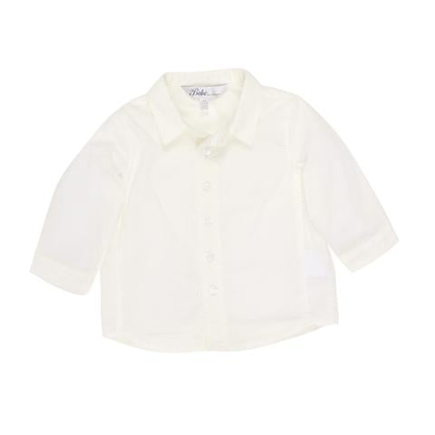 Bebe Hudson L/S Plain Shirt in Cloud
