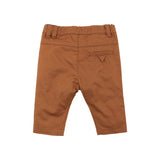 Bebe Arthur Woven Pants in Chestnut (Size 3M-24M)