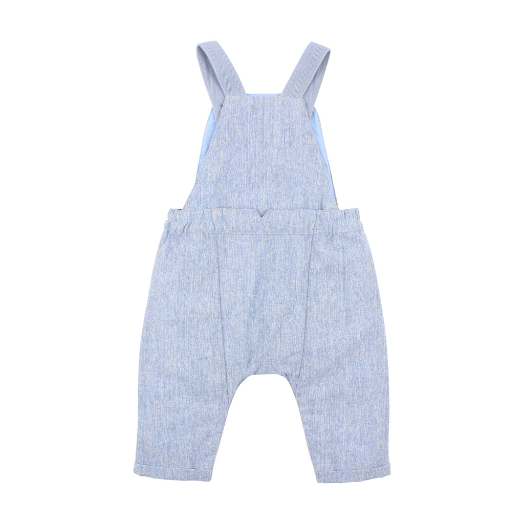 Bebe George Overall in Blue (Size 3M-1Y)