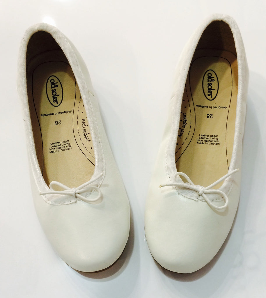 Old Soles Brulee Shoe in White - Sweet Thing Baby & Childrens Wear