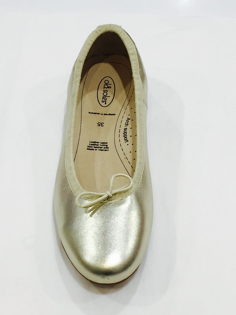Old Soles Brulee Shoe in Gold - Sweet Thing Baby & Childrens Wear