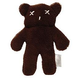 Britt Bear Teddy Snuggles in Chocolate brown - Large