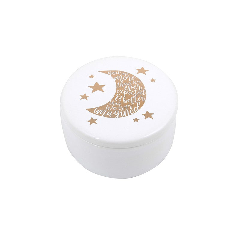 Artique Baby Moon Trinket Box