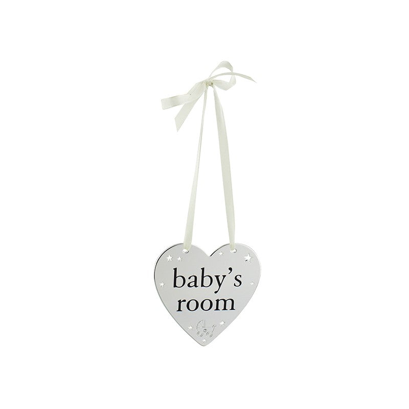 Bambino Baby's Room Hanging Plaque
