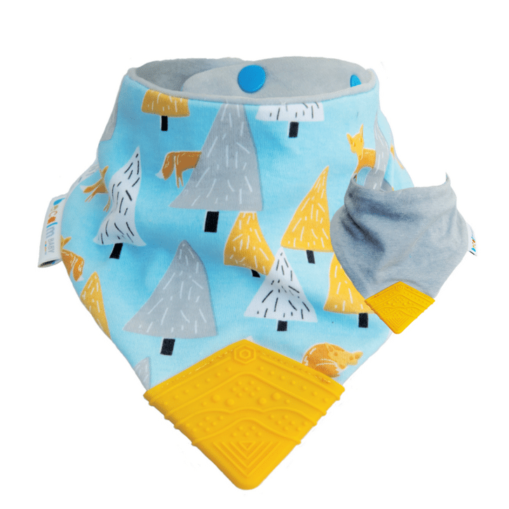 Becalm Baby Teething Bib - Frankie Fox