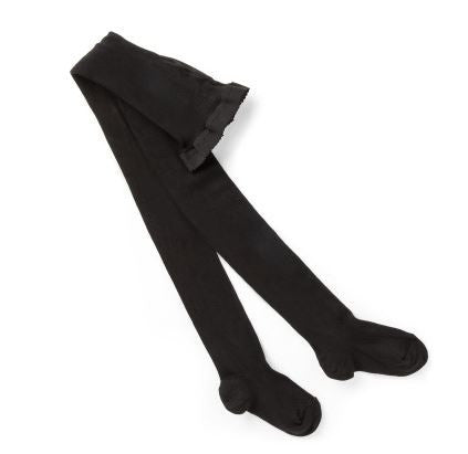 Columbine Cotton Tights-Black - Sweet Thing Baby & Childrens Wear